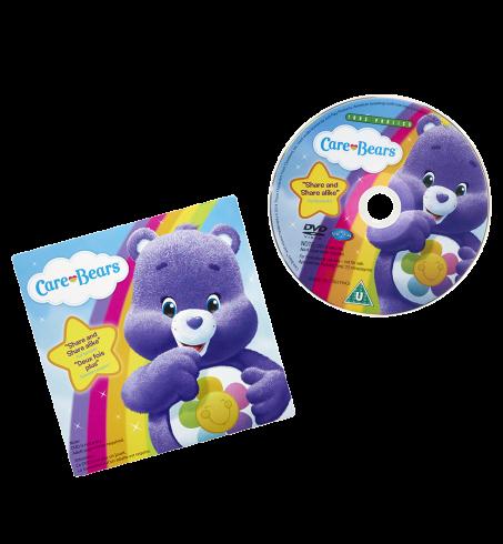 Medium Plush with DVD Assortment
