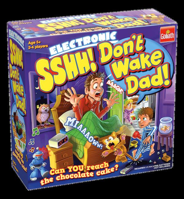 Shh! Don't Wake Dad
