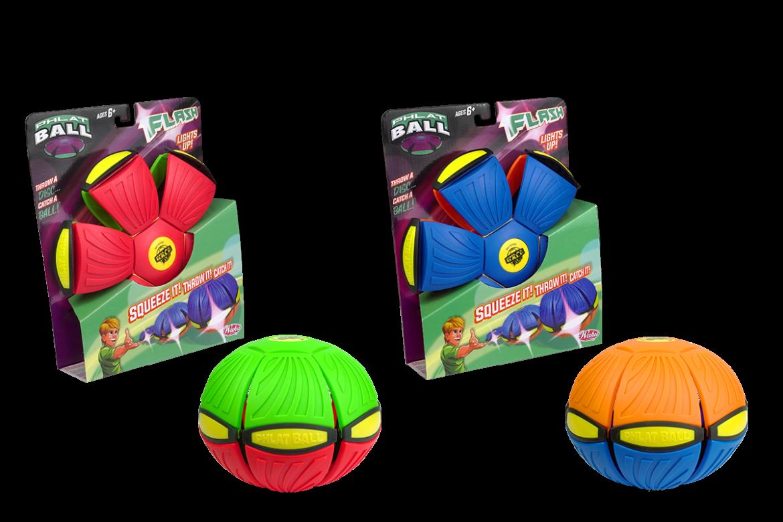 Flash phlat ball